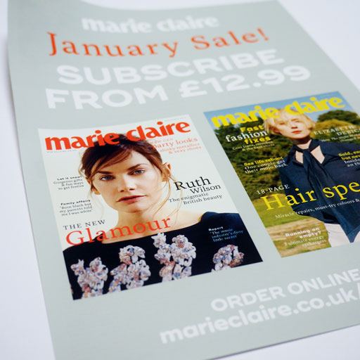 Marie Claire November Insert