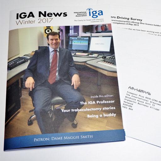 IGA Newsletter Mailing